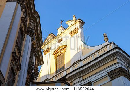 View Of Church In Wroclaw, Poland