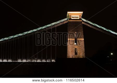 Clifton Suspension Bridge, north east tower