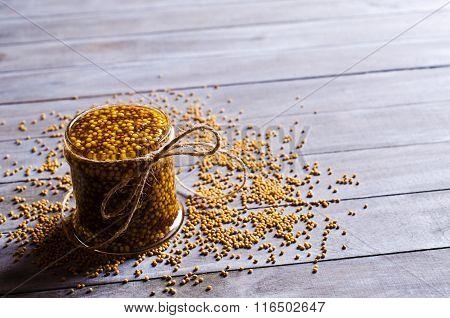 Seasoning From Mustard Seeds