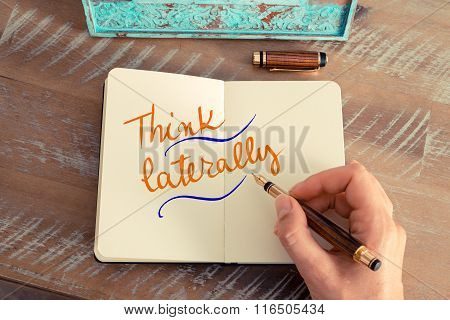 Written Text Think Laterally