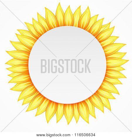 Round Flower Icon