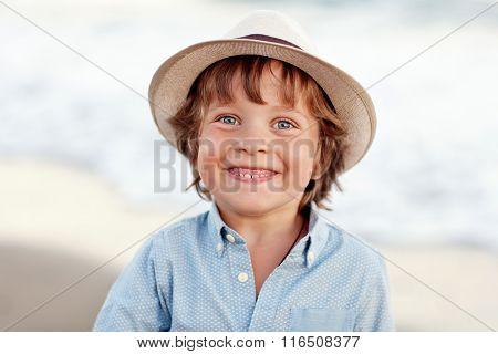 happy positive boy
