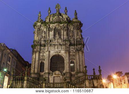 Clerics Tower In Porto