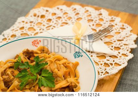 Plate Of Pasta