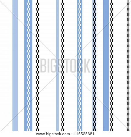 Seamless Striped Pattern Or Background