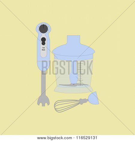 Immersion Blender Icon