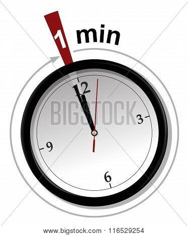 Last minute vector illustration