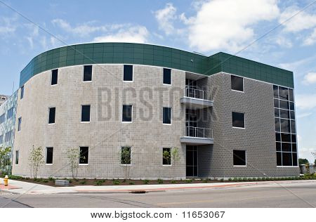 Modern Convex Building