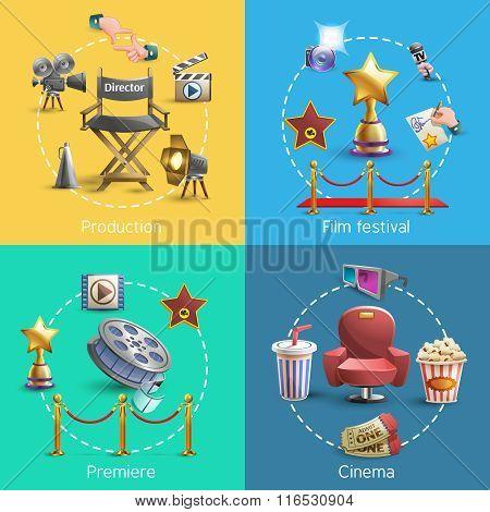 Cinema concept set