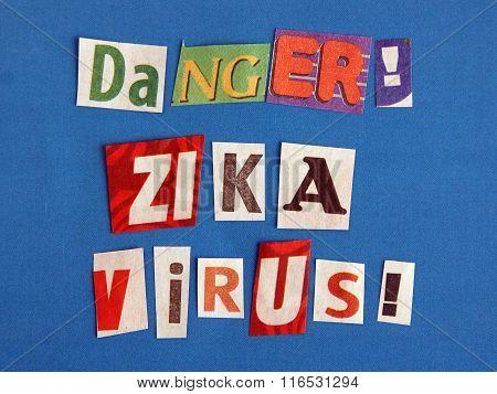Zika Virus Warning Sign