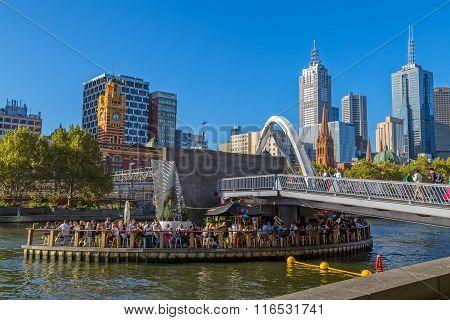 Melbourne Southbank Footbridge