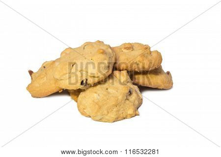 Pile Of Cashew Nut Cookies