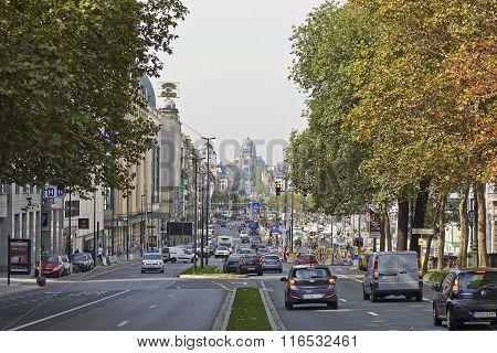 The Boulevard Du Jardin Botanique