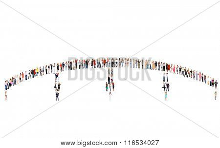 Standing Together Business Picture