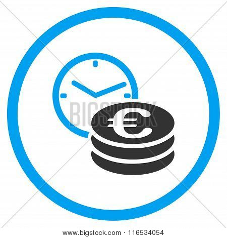 Euro Credit Rounded Icon