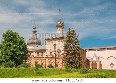 The Kremlin of Rostov the Great