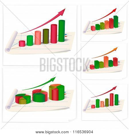 business diagrams collection.