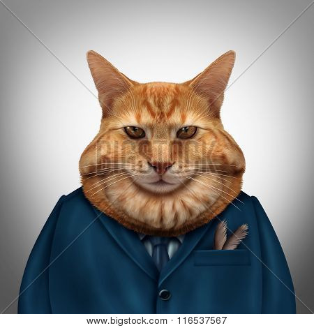 Business Fat Cat