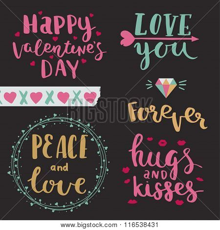 Vector Photo Overlays Of Valentines Day