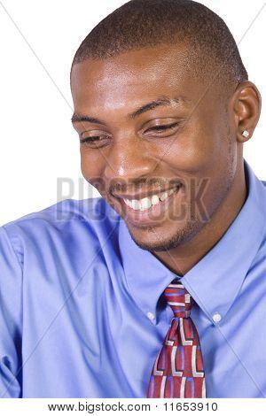 Handsome African American Businessman