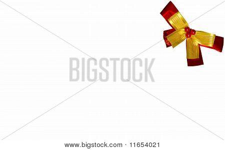 Xmas Card And Bow