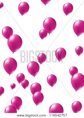 Vector balloons illustration