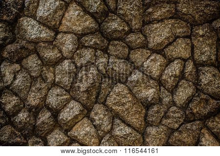 Abstract Background Of Cracked Stone