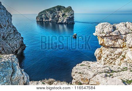 Foradada Island And White Rocks