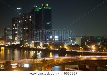 Cairo Night Traffic