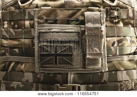 Close Up Of Bulletproof Vest