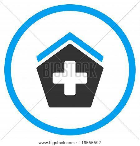 Hospital Rounded Icon
