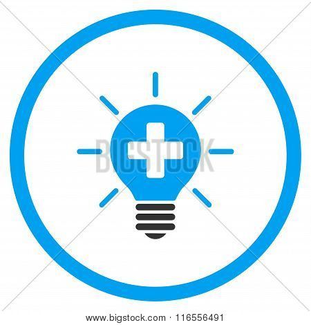 Medical Lamp Rounded Icon