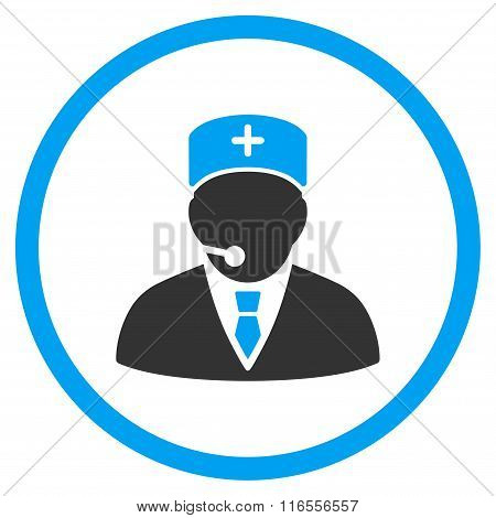 Medical Manager Rounded Icon