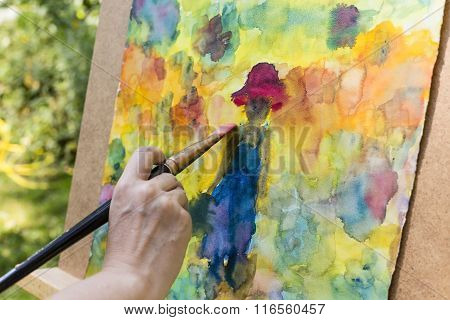 Painting With Water Colors