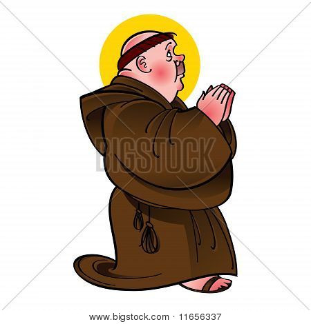 Holy Saint Monk