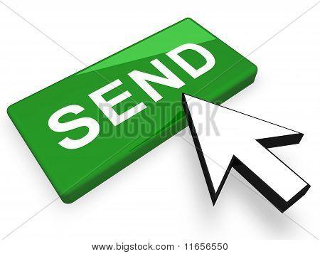 send button concept