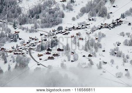 Swiss Mountain Village
