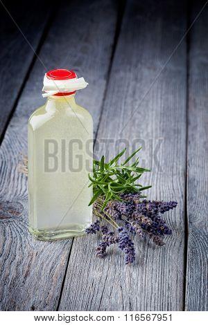 Natural diy olive oil makeup remover