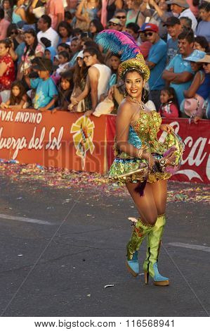 Morenada Dancer