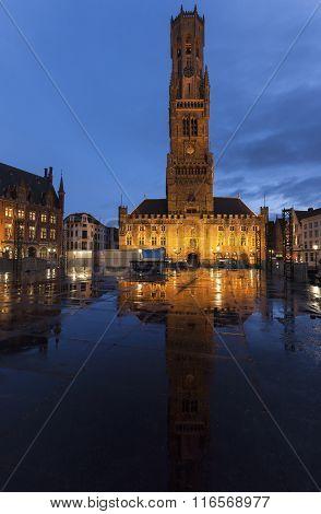 Belfry Of Bruges