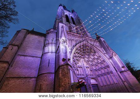 St. Martin's Church in Kortrijk. Kortrijk Flemish Region Belgium