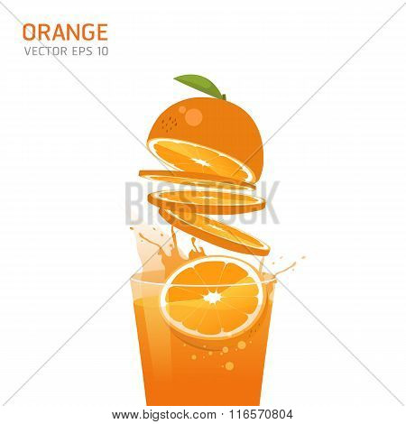 Vector Oranges