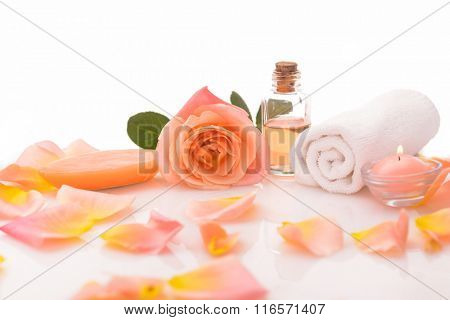 Objects for Spa, body care