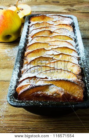 Apple Tart With Fresh Fruits