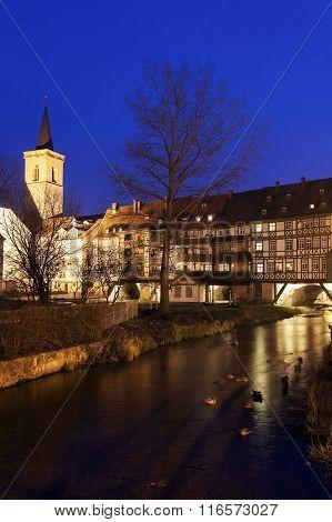 Kramerbrucke - Bridge With Houses