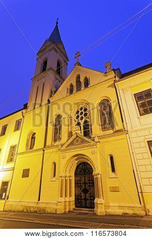 Cirila I Metoda Church In Zagreb