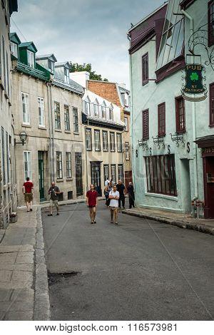 Old Quebec Street Scene