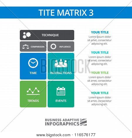 TITE Matrix Diagram Template 3
