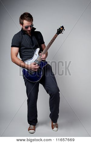Rockstar Playing Solo