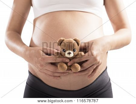Teddy bear pregnant